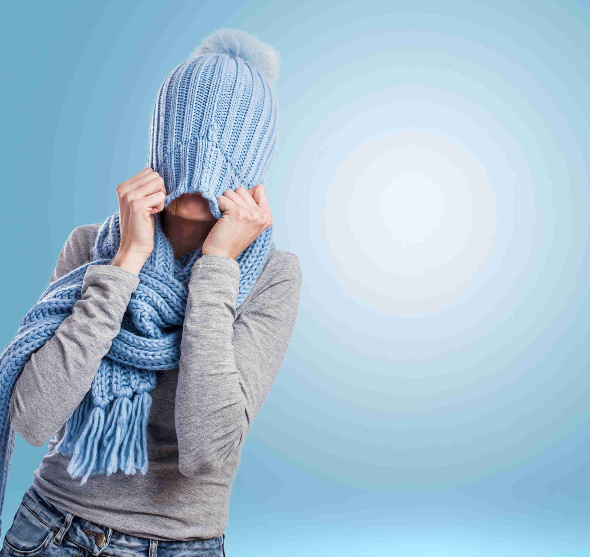 Protéger la peau du froid